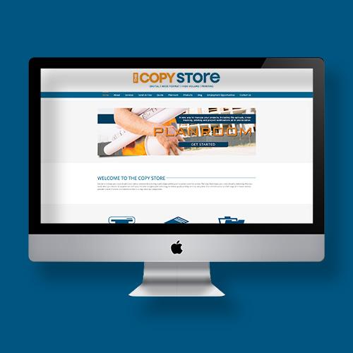 Website screen