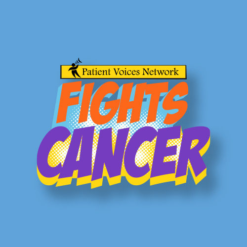 Patient Voices Network Fights Cancer Logo
